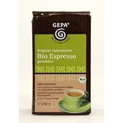 Кофе GEPA Italienischer Bio Espresso, молотый фото