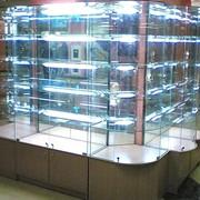 Витрины с подсветкой фото