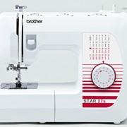 Машины бытовые швейные Швейная машина BROTHER STAR-27s (27 строчек, петля автомат, нитевдеватель, регуляторы длины и ширины стежка) New фото