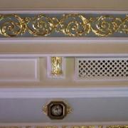 Оформление интерьеров и фасадов позолотой, реставрация зданий и архитектурных памятников фото