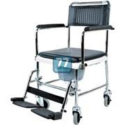 Кресло-каталка инвалидная с туалетным устройством 5019W2 фото