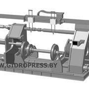Пресс для запрессовки и распрессовки колесных пар Мускул-КПРЗ-400М фото