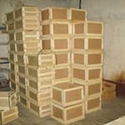 Деревянная тара/ящик фото