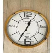 Часы Круг металл ФЛД 3720 фото