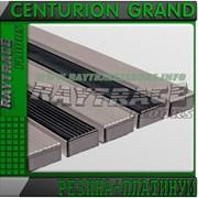 Придверная решетка CENTURION GRAND РЕЗИНА+ПЛАТИНУМ фото