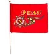 Флаг 9 мая 10 х 12 см фото