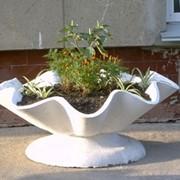 Технология производства цветочных вазонов Использование стальной фибры фото