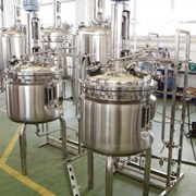 Изготовление резервуаров для фармацевтической промышленности фото