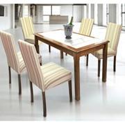 Стол обеденный Viitorul, 1300 mm x 750 mm фото