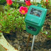 РН-метр измеритель кислотности, влажности и освещенности почвы , 3 в 1 фото