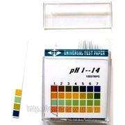 Индикатор pH, 100 стрипов в прозрачном боксе фото