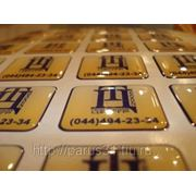 Объемные полимерные наклейки фото
