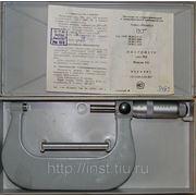 Микрометр 50-75 1985г. фото