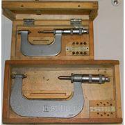 Микрометры резьбовые 25-50, 73-138 фото