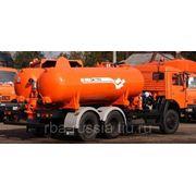 КО-505А-1 на КАМАЗ 65111 вакуумная 6х6 фото