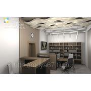 Дизайнерский проект офиса ул. Николаева д.47 Б фото