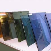 Тонированное стекло в массе бронзовое, черное, графит различной толщины и размеров фото