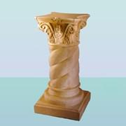 Садовая скульптура Колонна витая фото