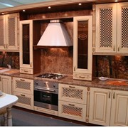 Светлый кухонный гарнитур фото