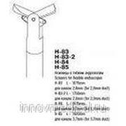 Ножницы для канала 3,7 мм; дл. 1675 мм фото
