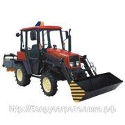 Машина уборочно-погрузочная на базе трактора Беларус 320.4 МПУ-320