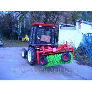 Щетка коммунальная для тракторов марки FOTON фото