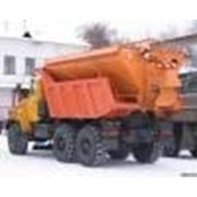Машина дорожная на самосвал УРАЛ-55571 фото