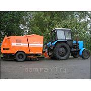 Прицеп тракторный подметально-уборочный фото