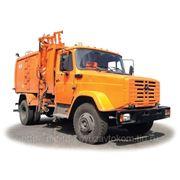КО-440-4 мусоровоз портальный на шасси ЗИЛ фото