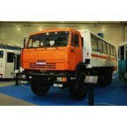 Нефаз 4208-12-15 Автобус вахтовый на шасси Камаз 43114 фото