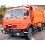 Мусоровоз КО-440-5 на шасси КамАЗ-65115-1071-62 фото