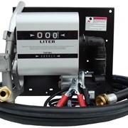 Мобильная топливораздаточная колонка заправки дизельного топлива WALL TECH 60, 24В, 60 л/мин фото