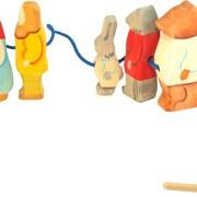 Шнуровка деревянная Колобок фото