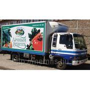 Реклама на автомобилях в Барнауле фото