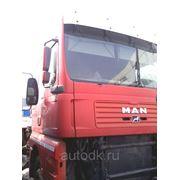 Кабина красная MAN TGA 2004 г.в. фото