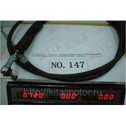 Трос переключения КПП нижний (черный) l=2,33 FAW 1041/51 1703235-Q7 фото