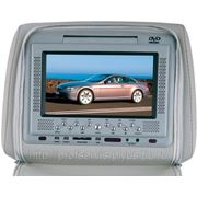 Монитор в подголовнике универсальный 7 дюймов с DVD фото