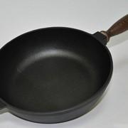 Сковорода чугунная CHUGUNOFF 240х60 мм 240-60-003 фото