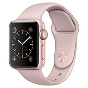 Часы Apple Watch Series 3 42mm Aluminum Case with Sport Band (Pink) MQL22 фото