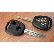 Корпус ключа зажигания для TOYOTA, 2 кнопки, toy41 фото