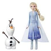 Disney Princess (Hasbro) Игровой набор HASBRO DISNEY PRINCESS ХОЛОДНОЕ СЕРДЦЕ 2 Эльза и Олаф (E5508) фото