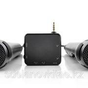 Портативный караоке с 2 микрофонами для телефонов, планшетов, телевизоров фото