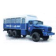 Вахтовый автобус УРАЛ-3255-0010-41 фото