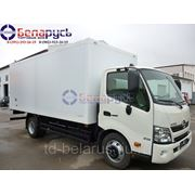 hino 300 изотермический сендвич-фургон 50мм xzu720l hkfrpw3 с двумя топливными баками фото