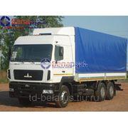 Бортовой тентовый автомобиль грузоподъемностью 15 тонн МАЗ-6312В9-420-010 фото