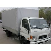 Hyundai HD-78 борт-тент фото
