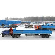 Урал седельный тягач с КМУ РК 15500А 55571 УСТ 5453 фото