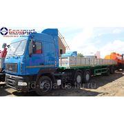 тягач маз на пневматической подвеске с двигателем Рено МАЗ-6430В9-1420-020 фото