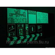Покрытие планов эвакуации фотолюминесцентной пленкой, Пермь фото