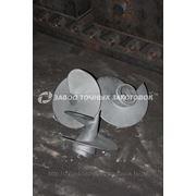 Литые наконечники для винтовых свай 350/133 фото